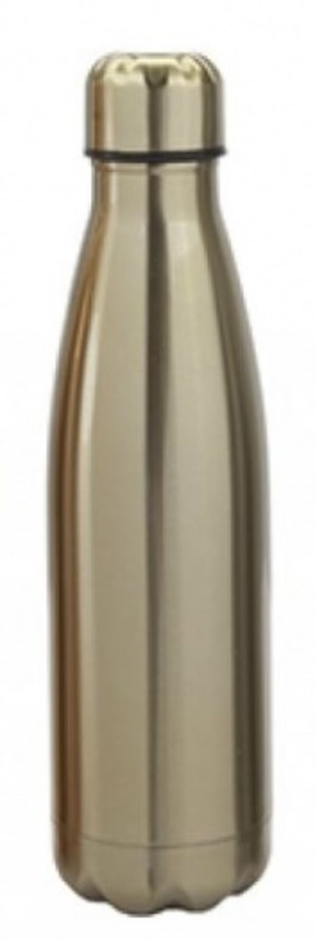 Lot 10607 - + VAT Brand New Vacuum Insulated Steel Double Wall Vacuum Drinking Bottle (Colours May Vary)