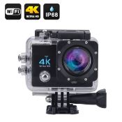 No VAT Brand New Full Ultra HD 4K Waterproof WiFi Action Camera With Audio - Box And Accessories -