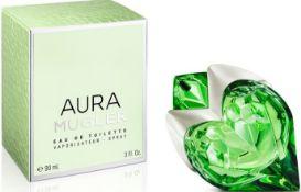 + VAT Brand New Thierry Mugler Aura 90ml EDT Refillable spray