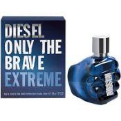 + VAT Brand New Diesel Only The Brave Extreme 50ml EDT Spray