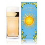 + VAT Brand New Dolce & Gabbana Light Blue SUN (L) 50ml EDT Spray