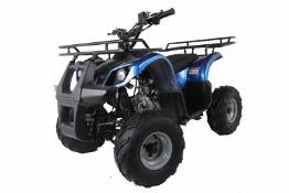 + VAT Brand New 125cc Condo 4 Stroke Quad Bike With Front & Rear Racks - Air Cooled 4 Stroke Honda