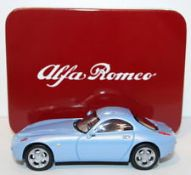 + VAT Brand New Alfa Romeo 166 Die Cast Model Car - Colours May Vary