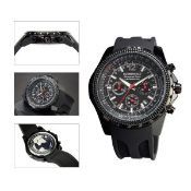 + VAT Brand New Gents Globenfeld Limited Edition Chronograph Sports Watch with Full Chronograph
