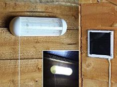 + VAT Brand New Solar Powered Shed Light ISP £23.99 (Amazon) (Image iS Similar To Item)