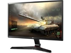+ VAT Grade A LG 24 Inch FULL HD IPS LED GAMING MONITOR - D-SUB, HDMI, DISPLAY PORT 24MP59G-P