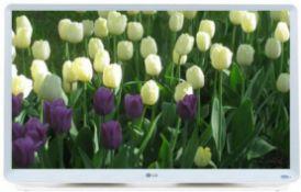 + VAT Grade A LG 27 Inch FULL HD LED MONITOR - HDMI, D-SUB 27TK600V-WZ