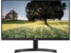 + VAT Grade A LG 24 Inch FULL HD IPS LED MONITOR - HDMI X 2, D-SUB 24MK600M-B