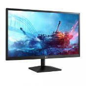 + VAT Grade A LG 22 Inch FULL HD LED MONITOR - D-SUB 22MK400H-B