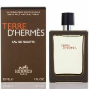 + VAT Brand New Terre D'Hermes 30ml EDT Spray refillable