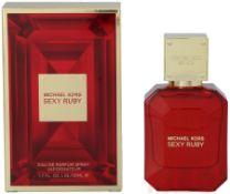 + VAT Brand New Michael Kors Sexy Ruby 50ml EDP Spray
