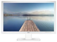 + VAT Grade A 24 Inch FULL HD IPS LED MONITOR WITH SPEAKERS - D-SUB DVI-D HDMI DISPLAY PORT