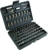 + VAT Brand New 100 Piece Assorted Power Bit Set (Chrome Vanadium Steel)