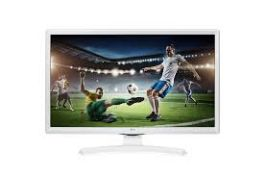 + VAT Grade A 24 Inch HD READY LED TV WITH FREEVIEW HD - WHITE