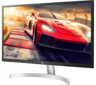 + VAT Grade A 27In 4K ULTRA HD IPS LED MONITOR HDR 10 - 3840 X 2160P - HDMI DISPLAY PORT