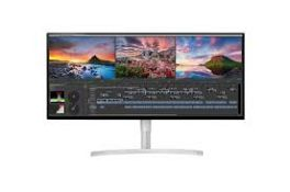 + VAT Grade A 34In ULTRA WIDE 5K2K NANO IPS LED MONITOR HDR 600 - HDMI X 2 DISPLAY X 1 THUNDERBOLT