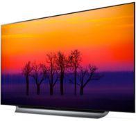 + VAT Grade A LG 65 Inch OLED HDR 4K UHD SMART AI TV OLED65C8PLA