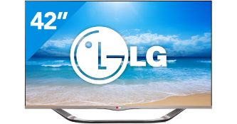 + VAT Grade A LG 42 Inch FULL HD LED 3D SMART TV WITH FREEVIEW, WIFI - FRAME LESS DESIGN 42LA6928 -