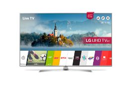 + VAT Grade A LG 43 Inch ACTIVE HDR 4K ULTRA HD LED SMART TV WITH FREEVIEW HD & WEBOS 3.5 & WIFI