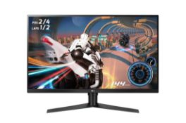 + VAT Grade A LG 32 Inch ULTRAGEAR QHD GAMING MONITOR - HDMI X2, DISPLAY PORT32GK650F-B