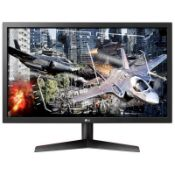 + VAT Grade A LG 24 Inch FULL HD LED 144Hz GAMING MONITOR - HDMI X 2, DISPLAYPORT 24GL600F-B