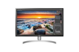 + VAT Grade A LG 27 inch 4K UHD IPS LED MONITOR WITH HDR 400 - HDMI X 2, DISPLAY PORT X 1, USB-C