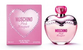 + VAT Brand New Moschino Pink Bouquet 100ml EDT Spray