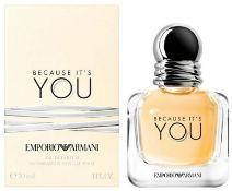 + VAT Brand New Emporio Armani Because It's You 30ml EDP Spray