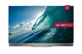 + VAT Grade A LG LG SIGNATURE E RANGE - 55 Inch FLAT OLED HDR 4K ULTRA HD SMART TV WITH FREEVIEW HD