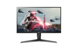 + VAT Grade A LG 27 Inch FULL HD IPS LED GAMING MINITOR WITH G-SYNC , 144HZ REFRESH RATE - HDMI ,
