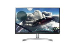 + VAT Grade A LG 27 Inch 4K UHD IPS LED MONITOR WITH HDR 10 - HDMI X 2, DISPLAY PORT X 1 27UK600-W