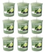+ VAT Brand New Box Nine Yankee Candle Time For Tea Scented Votives ISP £15.75 (Similar) (Scented