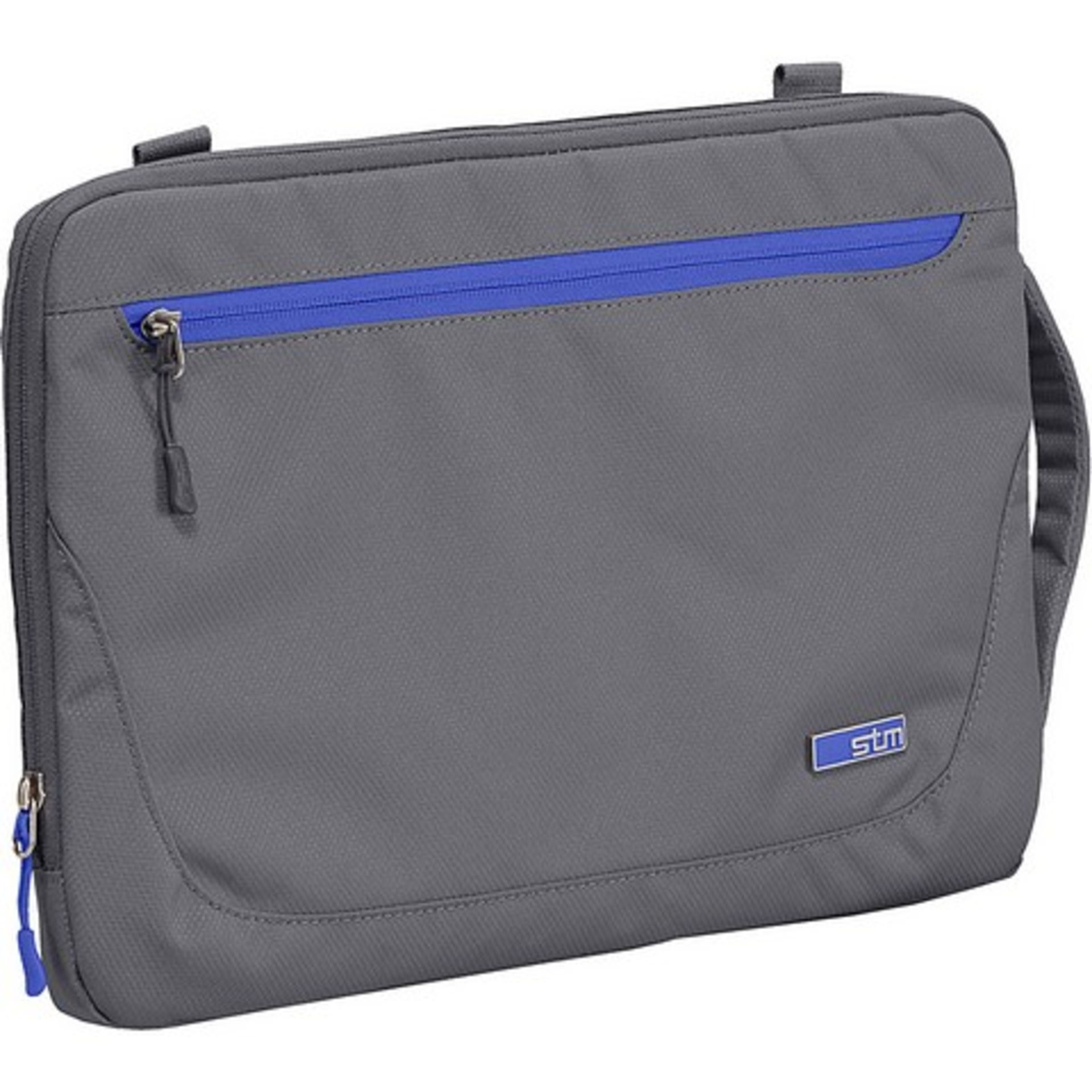 """+ VAT Brand New STM Blazer Padded Sleeve Bag For Laptops And Tablets 11"""" Charcoal With Removable"""