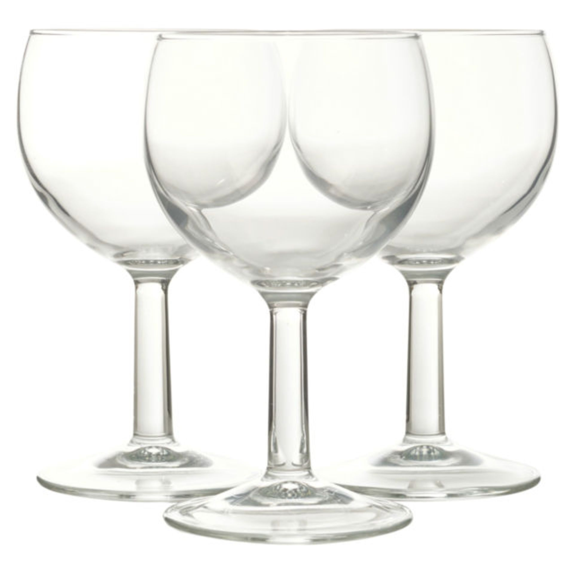 + VAT Brand New Red Wine Glasses - 3 x 25cl Glasses