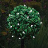 + VAT Grade C Set Of Three Solar Powered Topiary Ball Lights