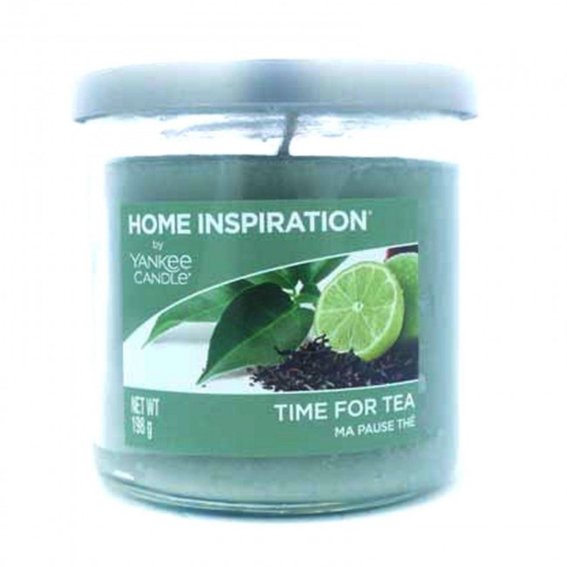 + VAT Brand New Home Inspiration by Yankee Candle Time for Tea 198g Tumbler Candle - ISP £7.99 Ebay