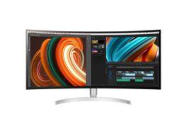 + VAT Grade A LG 34 Inch ULTRA WIDE WQHD 3440 X 1440P NANO IPS LED MONITOR HDR 400 - HDMI X 2,