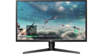 + VAT Grade A LG 27 Inch FULL HD GAMING LED MONITOR - HDMI X 2, DISPLAYPORT, USB 3.0 X 2 27GK750F-B