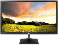 + VAT Grade A LG 27 Inch FULL HD IPS LED MONITOR - D-SUB, HDMI 27MK400H-B
