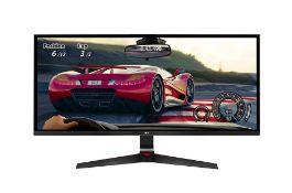+ VAT Grade A LG 34 Inch ULTRA WIDE FULL HD IPS LED GAMING MONITOR - 2560 X 1080P - HDMI, DISPLAY
