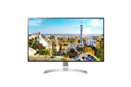 + VAT Grade A LG 32 Inch HDR 10 4K ULTRA HD IPS LED MONITOR - 3840 X 2160P - HDMI X 2, DISPLAY