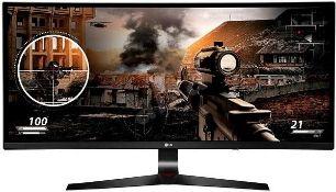 + VAT Grade A LG 34 Inch UltraGear 2560 x 1080 21:9 Curved 144 Hz Adaptive-Sync IPS Gaming Monitor