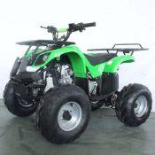 + VAT Brand New 125cc Quad Bike - Four Stroke - Single Cylinder - Front Drum Brakes & Rear