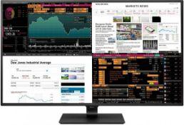 + VAT Grade A LG 43 Inch 4K ULTRA HD IPS LED MONITOR - HDMI, DISPLAY PORT, USB TYPE C - SPEAKERS