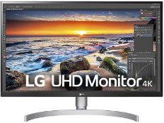+ VAT Grade A LG 27 Inch 4K UHD IPS LED MONITOR WITH HDR 10 - HDMI X 2, DISPLAY PORT X 1, USB TYPE