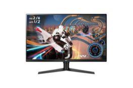 + VAT Grade A LG 32 Inch QHD LED MONITOR WITH FREESYNC - 2560 X 1440P - HDMI X 2, DISPLAY PORT, USB