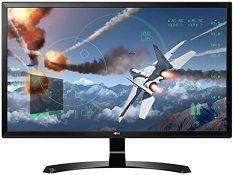 + VAT Grade A LG 24 Inch 4K UHD IPS LED MONITOR - HDMI X 2, DISPLAY PORT X 1 24UD58-B