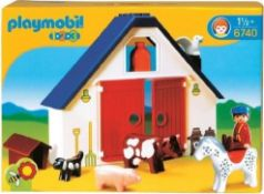 + VAT Brand New Playmobil Animal Farm Playset