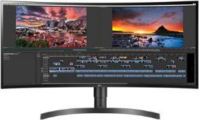 + VAT Grade A LG 34 Inch ULTRA WIDE 21:9 WQHD 3440 X 1440p NANO IPS LED MONITOR HDR 400 FREESYNC -