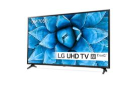 + VAT Grade A LG 55 Inch ACTIVE HDR 4K ULTRA HD LED SMART TV WITH FREEVIEW HD & WEBOS & WIFI - AI